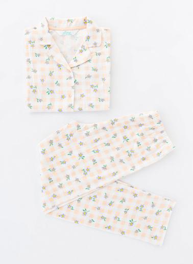 Penti Çok Renkli Kız Çocuk Ent Meadow Ls 2Li Gömlek Takımı Renkli